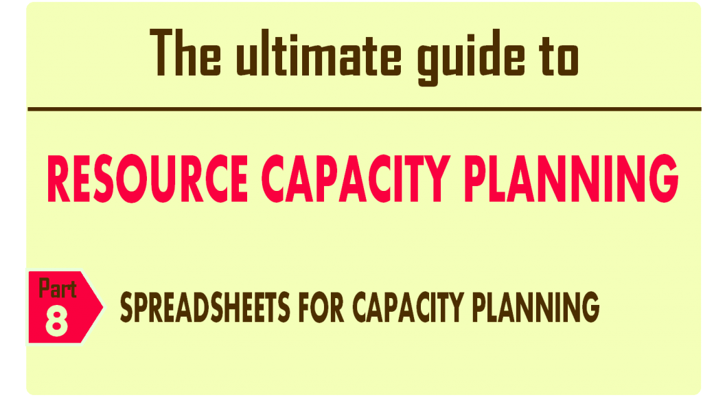 The ultimate guide to resource capacity planning_chapter_8