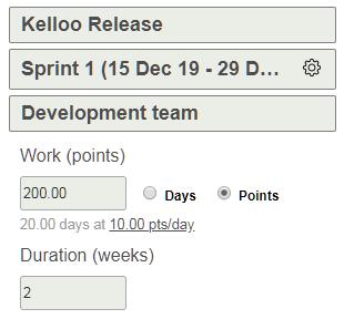 Edit sprint