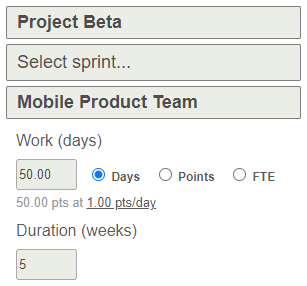 allocate mobile team